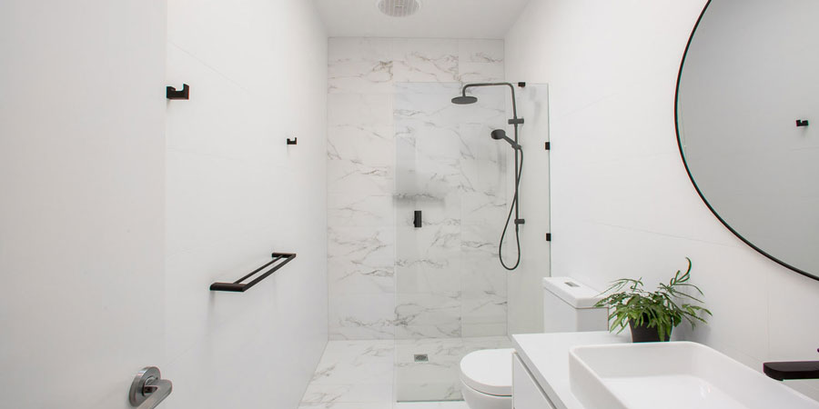 Ivanhoe East home renovation bathroom simplicity